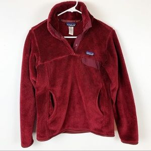 PATAGONIA SYNCHILLA 1/4 SNAP PULLOVER SIZE S